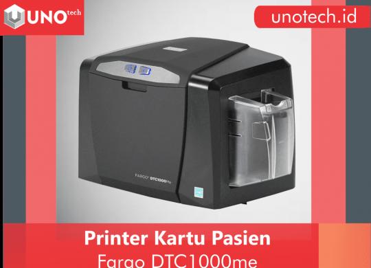 printer kartu pasien, printer id card, printer kartu nama, printer fargo 1000me
