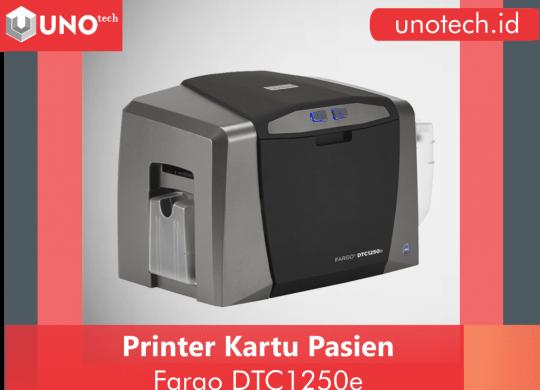 printer kartu pasien, printer id card, printer kartu nama, printer fargo 1250e
