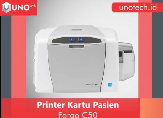 printer kartu pasien, printer id card, printer kartu nama, printer fargo c50